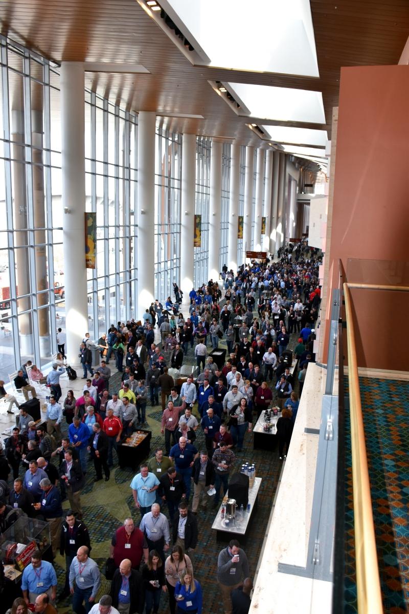 South hall parking garage la convention center